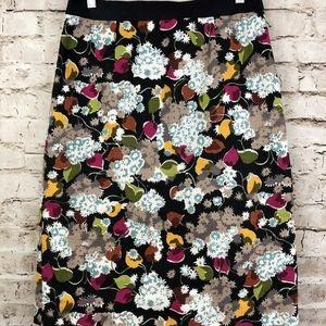 Anthropologie Girls From Savoy Pencil Skirt
